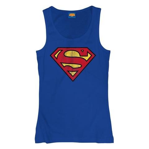 Superman Logo von Justice League - Girlie Top jetzt im Bravado Shop
