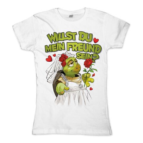 √Willst Du mein Freund sein? von Sascha Grammel - Girlie shirt jetzt im Bravado Shop
