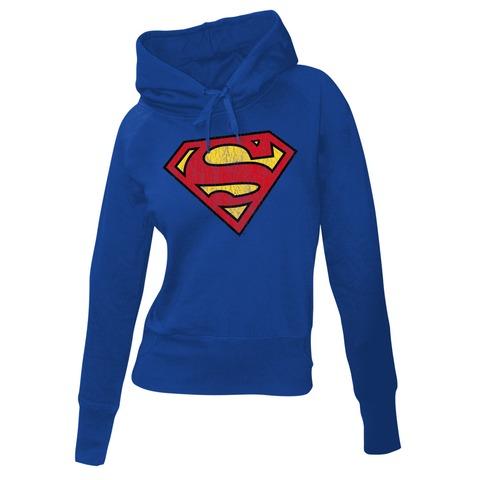 Superman Logo von Justice League - Girlie Kapuzenpullover jetzt im Bravado Shop
