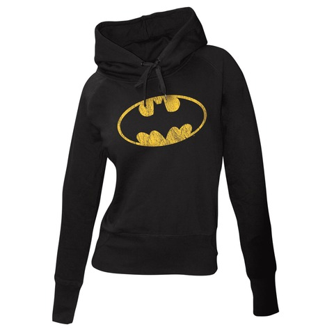√Batman Logo von Justice League - Girlie hooded sweater jetzt im Bravado Shop