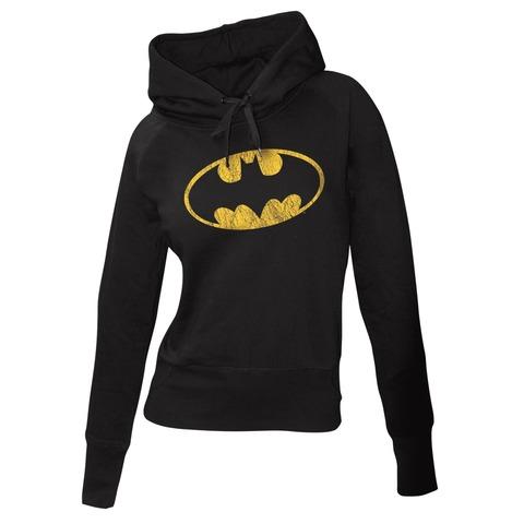 Batman Logo von Justice League - Girlie Kapuzenpullover jetzt im Bravado Shop
