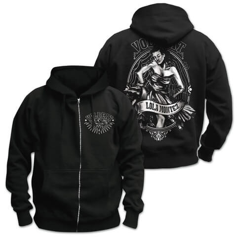 √Lola Crest von Volbeat - Hooded jacket jetzt im Bravado Shop