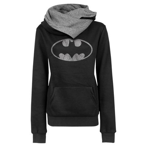 Batman Logo von Justice League - Girlie Longhoodie jetzt im Bravado Shop