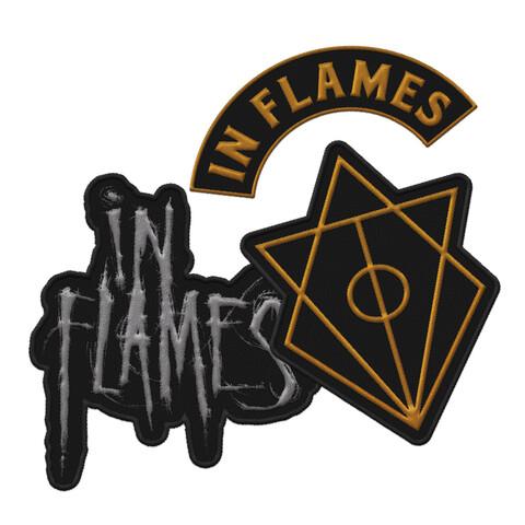 √Logos von In Flames - Aufnäher 3er Set jetzt im Bravado Shop