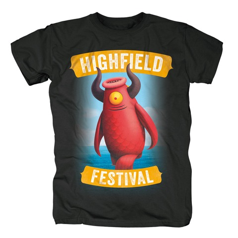 √Mascot von Highfield Festival - T-Shirt jetzt im Bravado Shop