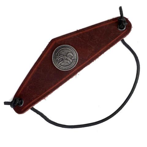 √SM Niete von Saltatio Mortis - Leather armband jetzt im Bravado Shop
