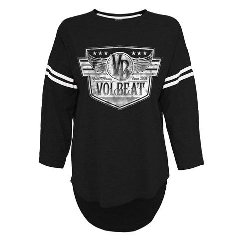 √Retro Sign von Volbeat - Girlie Longsleeve jetzt im Bravado Shop
