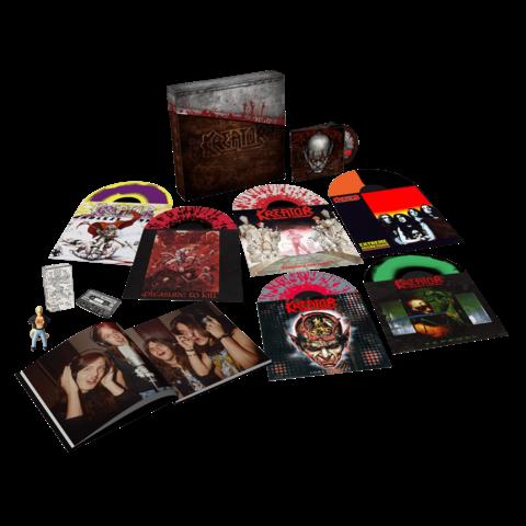 √Under The Guillotine (Boxset 6LPs + DVD) von Kreator - Box set jetzt im Bravado Shop