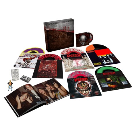 Under The Guillotine (Boxset 6LPs + DVD) von Kreator - Boxset jetzt im Bravado Shop