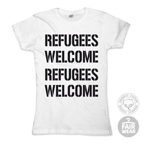 Refugees Welcome von Deichkind - Girlie Shirt jetzt im Bravado Shop