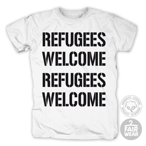 Refugees Welcome von Deichkind - T-Shirt jetzt im Bravado Shop