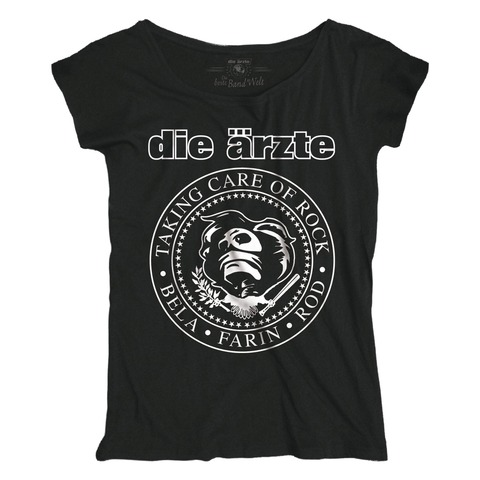 √Taking Care of Rock von die ärzte - Girlie Shirt Loose Fit jetzt im Bravado Shop