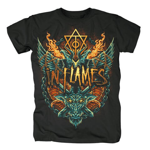 √Hate Is In The Air von In Flames - T-shirt jetzt im Bravado Shop