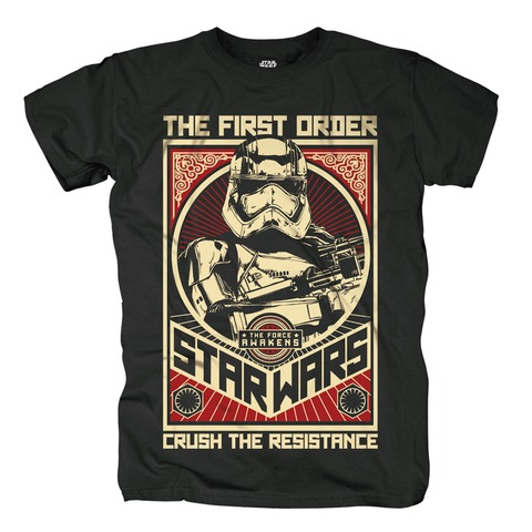 √Crush The Resistance von Star Wars - T-Shirt jetzt im Bravado Shop