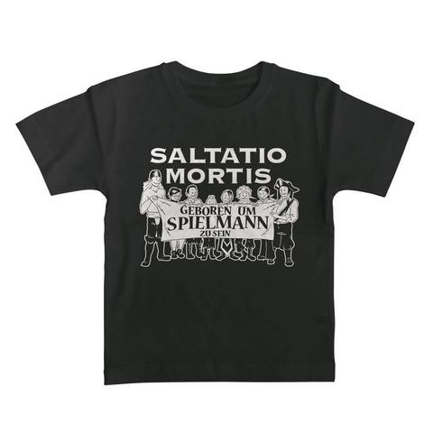 √Geboren um Spielmann zu sein von Saltatio Mortis - Kinder Shirt jetzt im Bravado Shop