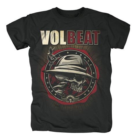 √Beyond Shield Logo von Volbeat - T-shirt jetzt im Bravado Shop