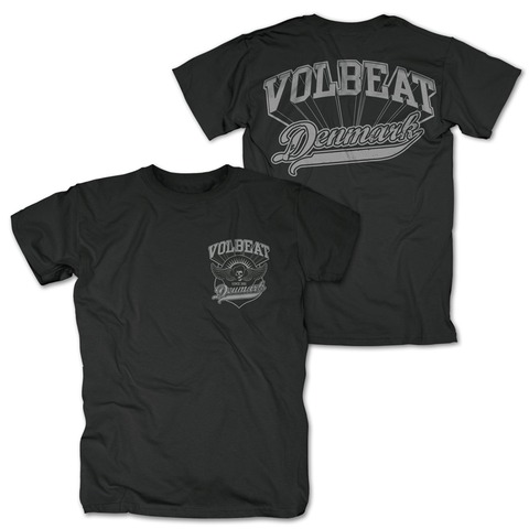 Volbeat Denmark Pocket Logo von Volbeat - T-Shirt jetzt im Bravado Shop