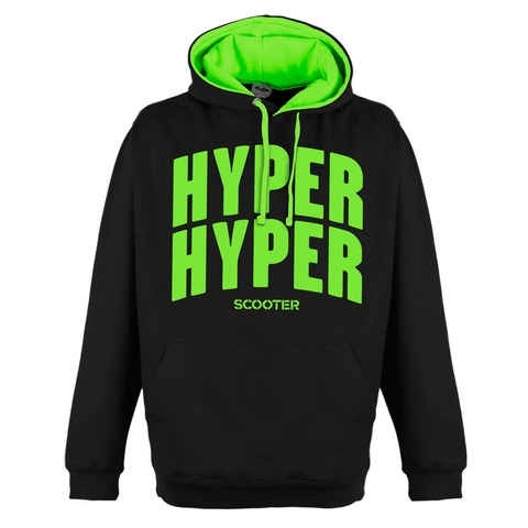 Hyper Hyper Typo von Scooter - Kapuzenpullover jetzt im Bravado Shop