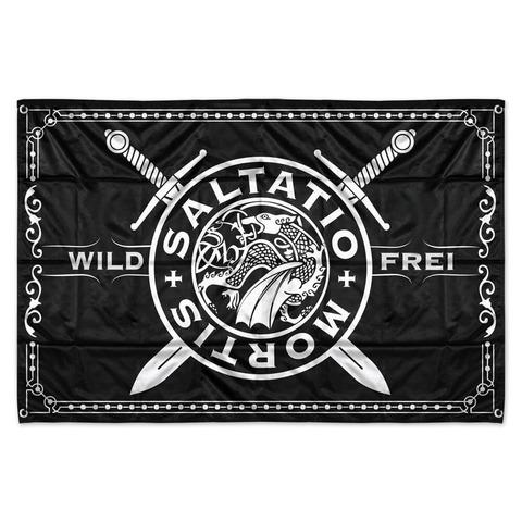 √Wild & Frei von Saltatio Mortis - Flagge jetzt im Bravado Shop