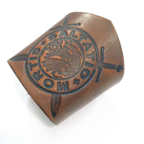 √Drachen Logo von Saltatio Mortis - leather jetzt im Bravado Shop