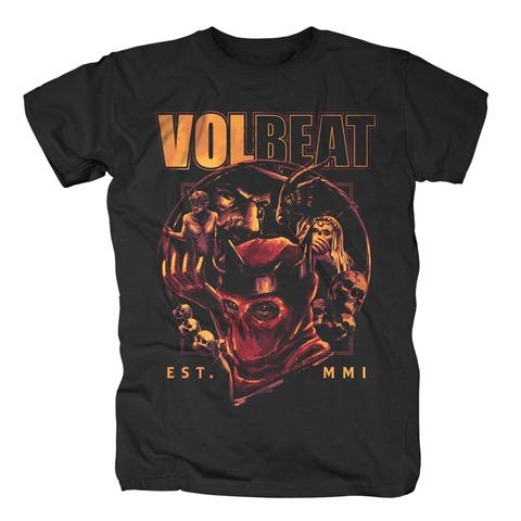 Circle Of Death von Volbeat - T-Shirt jetzt im Bravado Shop