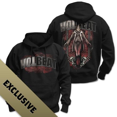 King & Skulls von Volbeat - Kapuzenpullover jetzt im Bravado Shop
