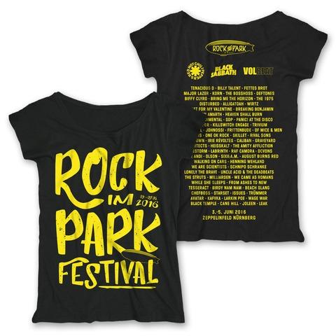 Big Letters von Rock im Park Festival - Girlie Shirt jetzt im Bravado Shop