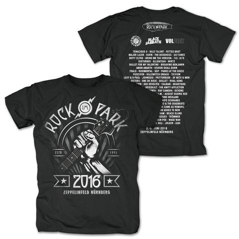 Giant Guitar von Rock im Park Festival - T-Shirt jetzt im Bravado Shop