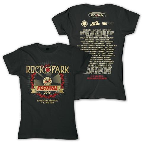 Rock Vinyl von Rock im Park Festival - Girlie Shirt jetzt im Bravado Shop