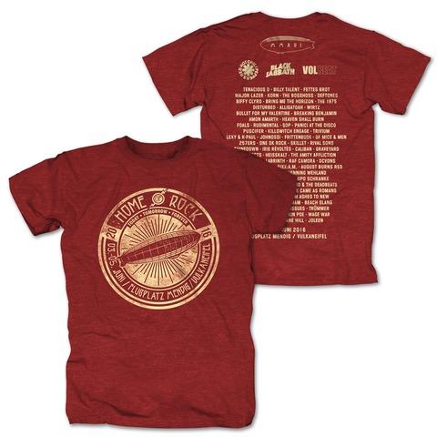 Circle Of Rock von Rock am Ring Festival - T-Shirt jetzt im Bravado Shop