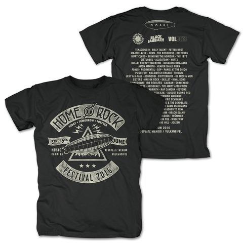 Triangle Rock von Rock am Ring Festival - T-Shirt jetzt im Bravado Shop