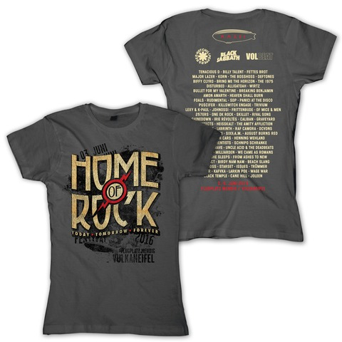Vintage Logo von Rock am Ring Festival - Girlie Shirt jetzt im Bravado Shop