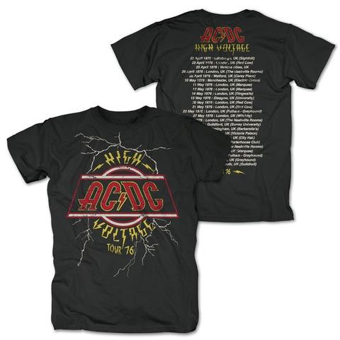 High Voltage Tour 76 von AC/DC - T-Shirt jetzt im Bravado Shop