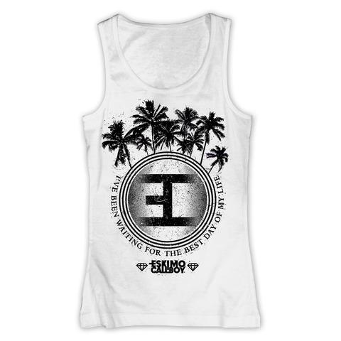 Palm Tree Logo von Eskimo Callboy - Girlie Tank Top jetzt im Bravado Shop