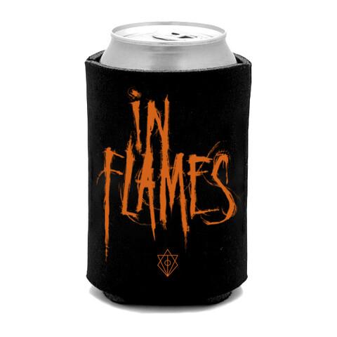 √Orange Logo von In Flames - polyester jetzt im Bravado Shop