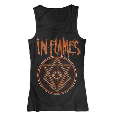 √Vintage Circle von In Flames - Girlie tank top jetzt im Bravado Shop