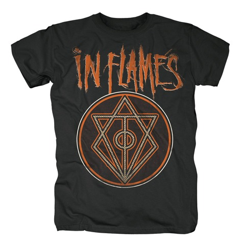 √Vintage Circle von In Flames - T-shirt jetzt im Bravado Shop