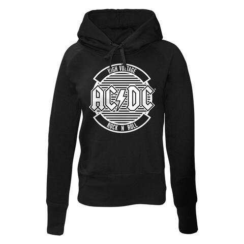 √Logo Circle von AC/DC - Girlie hooded sweater jetzt im Bravado Shop