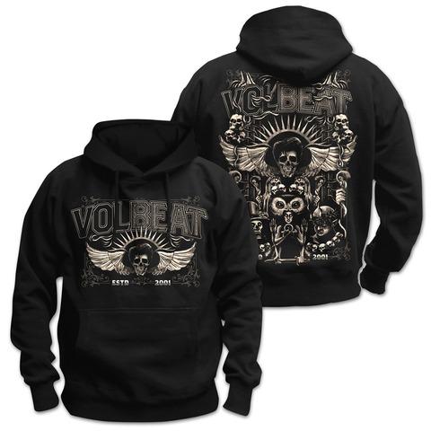 Character Collage von Volbeat - Kapuzenpullover jetzt im Bravado Shop
