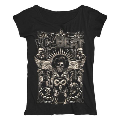 Character Collage von Volbeat - Loose Fit Girlie Shirt jetzt im Bravado Shop
