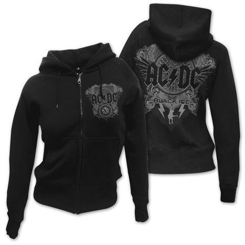 Black Ice von AC/DC - Girlie Kapuzenjacke jetzt im Bravado Shop