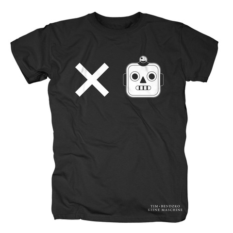 √Keine Maschine von Tim Bendzko - T-Shirt jetzt im Bravado Shop