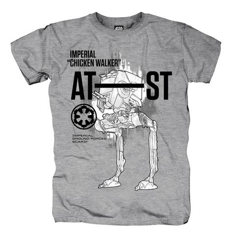 √Imperial Chicken Walker von Star Wars - T-Shirt jetzt im Bravado Shop