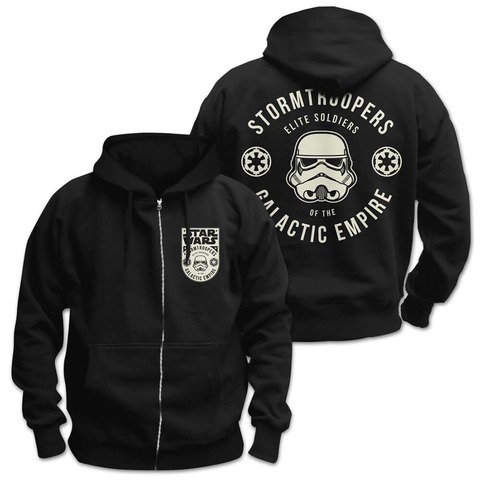 √Empire Shield von Star Wars - Hooded jacket jetzt im Bravado Shop