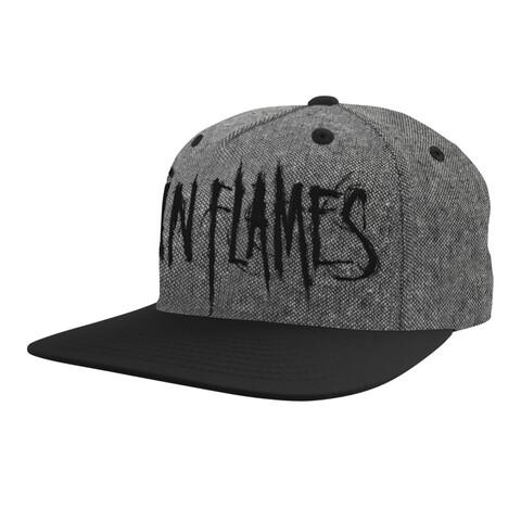√Black Logo von In Flames - Cap jetzt im Bravado Shop
