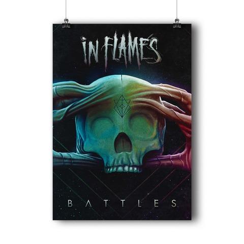 √Battles Cover von In Flames - Poster jetzt im Bravado Shop