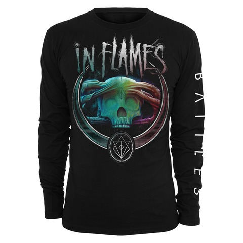 √Battles Badge Colour von In Flames - Long-sleeve jetzt im Bravado Shop