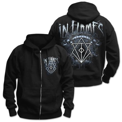 √Battles Crest von In Flames - Hooded jacket jetzt im Bravado Shop