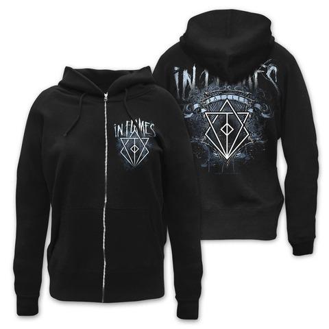 √Battles Crest von In Flames - Girlie hooded jacket jetzt im Bravado Shop
