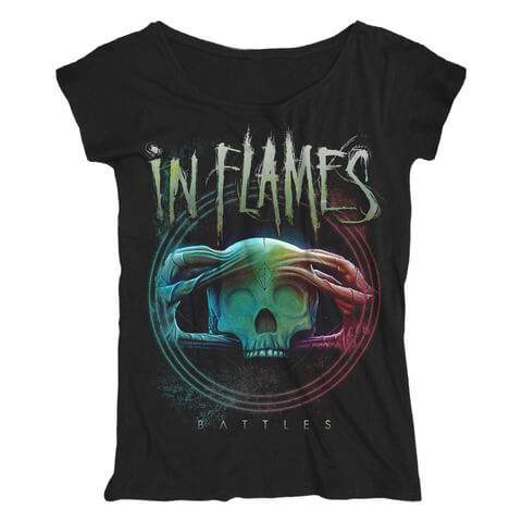 √Battles Circle von In Flames - Girlie Shirt Loose Fit jetzt im Bravado Shop